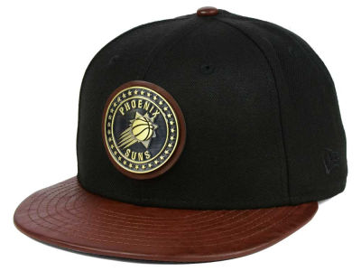 Phoenix Suns New Era NBA Butter Badge 9FIFTY Snapback Cap