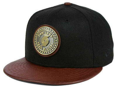 Portland Trail Blazers New Era NBA Butter Badge 9FIFTY Snapback Cap