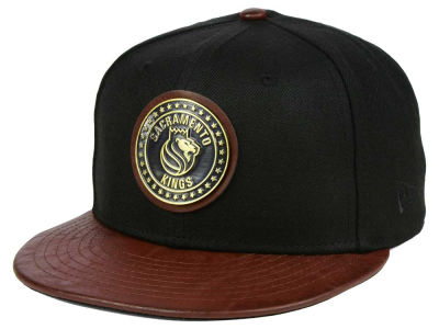 Sacramento Kings New Era NBA Butter Badge 9FIFTY Snapback Cap