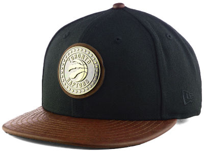 Toronto Raptors New Era NBA Butter Badge 9FIFTY Snapback Cap