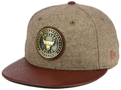Chicago Bulls New Era NBA Butter Badge 9FIFTY Snapback Cap