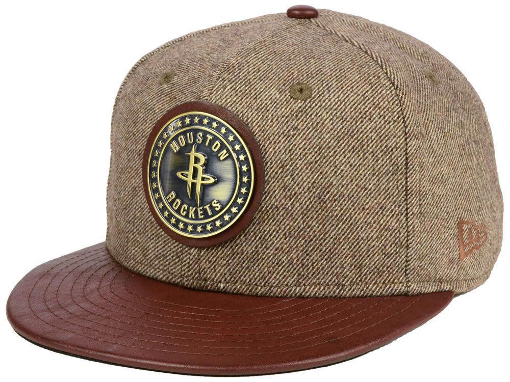 Houston Rockets New Era NBA Butter Badge 9FIFTY Snapback Cap