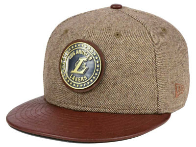 Los Angeles Lakers New Era NBA Butter Badge 9FIFTY Snapback Cap