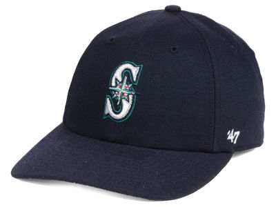 Seattle Mariners '47 MLB No Shot CLEAN UP Cap