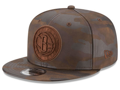 Brooklyn Nets New Era NBA Butter So Camo 9FIFTY Snapback Cap