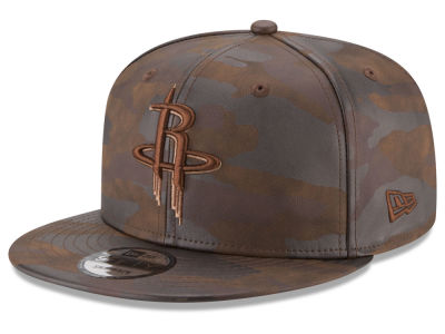 Houston Rockets New Era NBA Butter So Camo 9FIFTY Snapback Cap