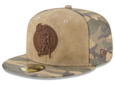 Boston Celtics New Era NBA Butter So Camo 59FIFTY Cap
