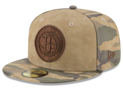 Brooklyn Nets New Era NBA Butter So Camo 59FIFTY Cap