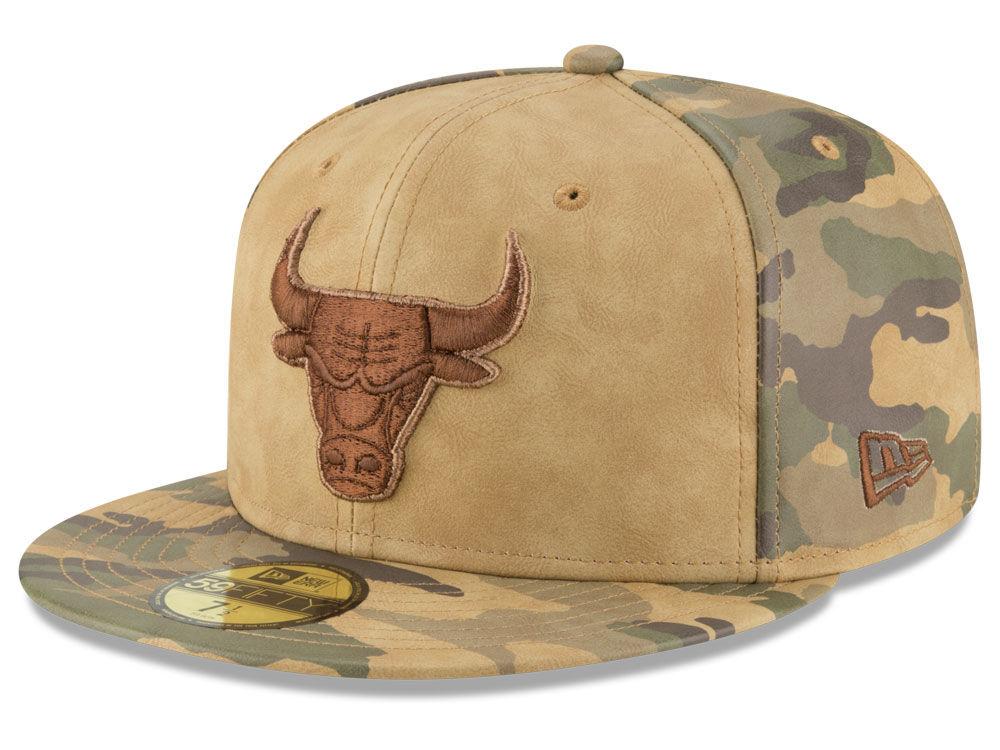 c65c0686011 Chicago Bulls New Era NBA Butter So Camo 59FIFTY Cap