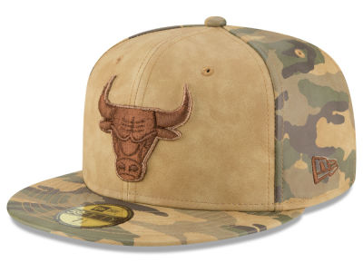 Chicago Bulls New Era NBA Butter So Camo 59FIFTY Cap