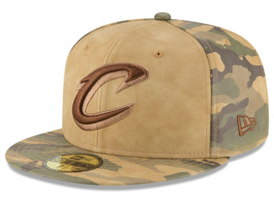 Cleveland Cavaliers New Era NBA Butter So Camo 59FIFTY Cap