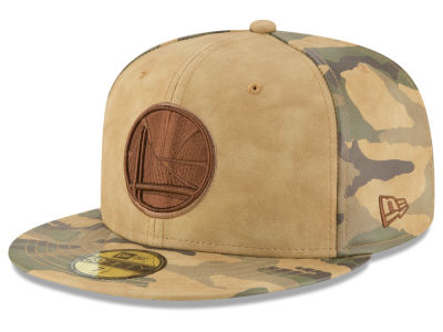 Golden State Warriors New Era NBA Butter So Camo 59FIFTY Cap