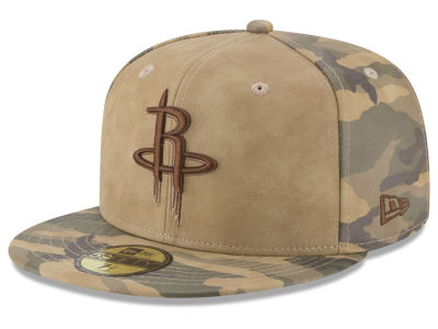 Houston Rockets New Era NBA Butter So Camo 59FIFTY Cap