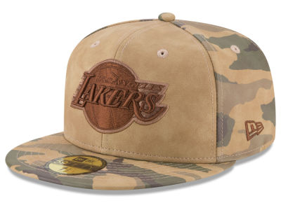 Los Angeles Lakers New Era NBA Butter So Camo 59FIFTY Cap