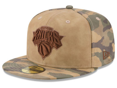 New York Knicks New Era NBA Butter So Camo 59FIFTY Cap