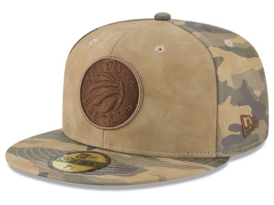 Toronto Raptors New Era NBA Butter So Camo 59FIFTY Cap