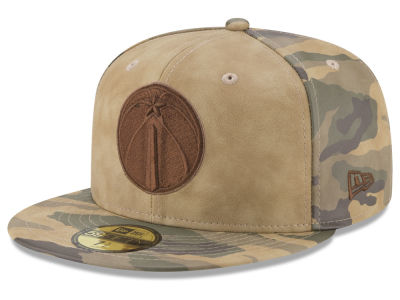 Washington Wizards New Era NBA Butter So Camo 59FIFTY Cap