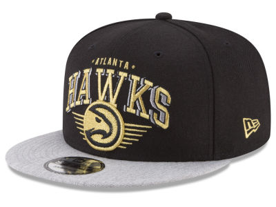 Atlanta Hawks New Era NBA Gold Mark 9FIFTY Snapback Cap