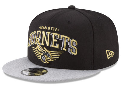 Charlotte Hornets New Era NBA Gold Mark 9FIFTY Snapback Cap