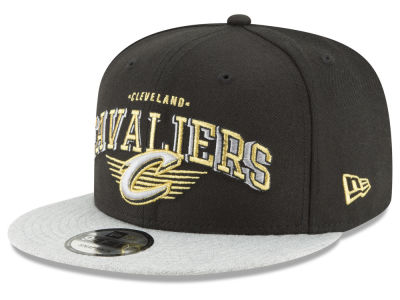 Cleveland Cavaliers New Era NBA Gold Mark 9FIFTY Snapback Cap
