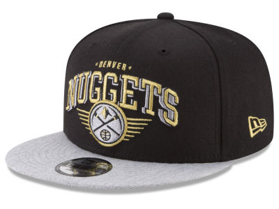 Denver Nuggets New Era NBA Gold Mark 9FIFTY Snapback Cap
