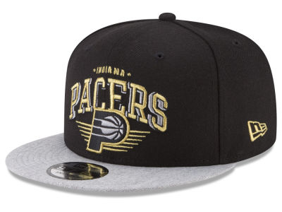 Indiana Pacers New Era NBA Gold Mark 9FIFTY Snapback Cap