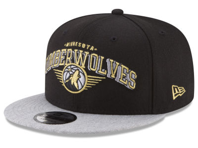 Minnesota Timberwolves New Era NBA Gold Mark 9FIFTY Snapback Cap