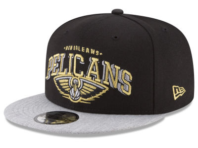 New Orleans Pelicans New Era NBA Gold Mark 9FIFTY Snapback Cap