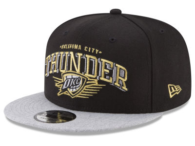 Oklahoma City Thunder New Era NBA Gold Mark 9FIFTY Snapback Cap