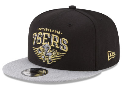 Philadelphia 76ers New Era NBA Gold Mark 9FIFTY Snapback Cap