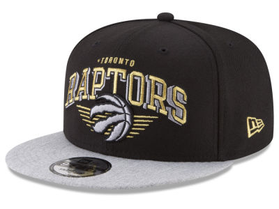 Toronto Raptors New Era NBA Gold Mark 9FIFTY Snapback Cap
