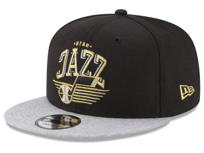 Utah Jazz New Era NBA Gold Mark 9FIFTY Snapback Cap