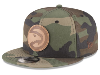 Atlanta Hawks New Era NBA Camo 9FIFTY Snapback Cap