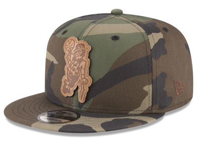 Boston Celtics New Era NBA Sergeant Camo 9FIFTY Snapback Cap