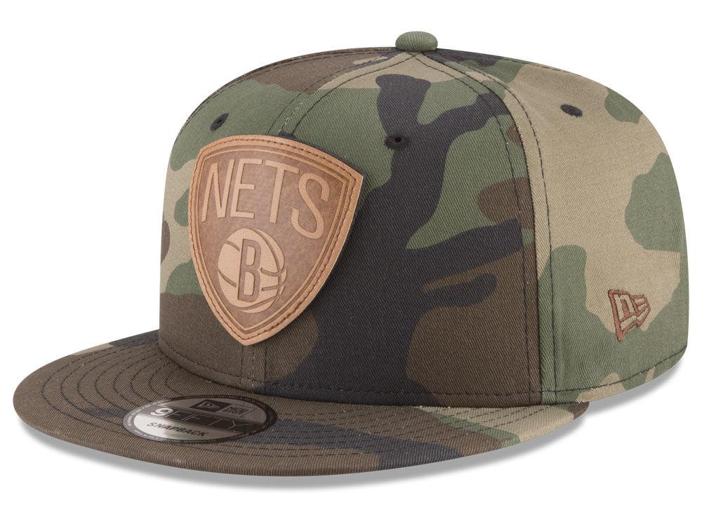 Brooklyn Nets New Era NBA Sergeant Camo 9FIFTY Snapback Cap  0084d65490d