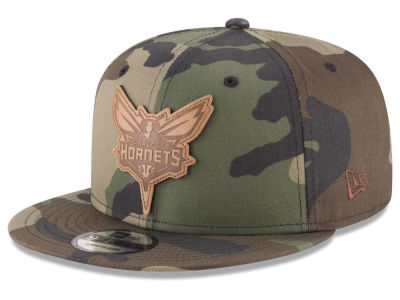 Charlotte Hornets New Era NBA Camo 9FIFTY Snapback Cap