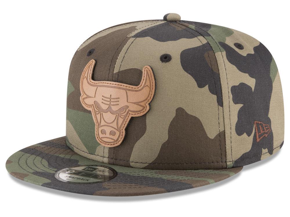 ef5d8794a1a Chicago Bulls New Era NBA Sergeant Camo 9FIFTY Snapback Cap