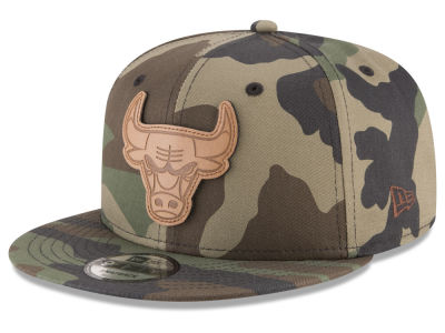 Chicago Bulls New Era NBA Camo 9FIFTY Snapback Cap