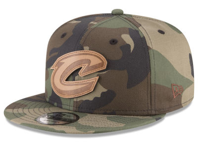 Cleveland Cavaliers New Era NBA Camo 9FIFTY Snapback Cap