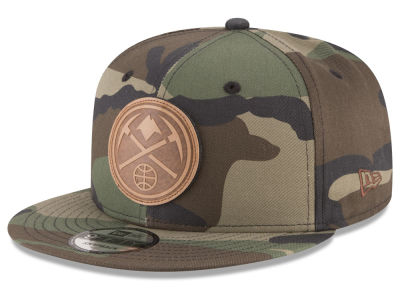 Denver Nuggets New Era NBA Camo 9FIFTY Snapback Cap
