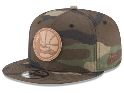 Golden State Warriors New Era NBA Sergeant Camo 9FIFTY Snapback Cap