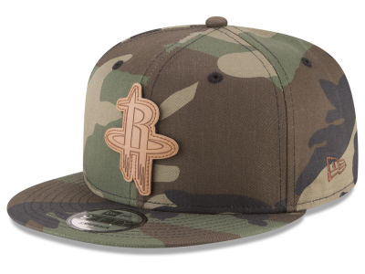 Houston Rockets New Era NBA Sergeant Camo 9FIFTY Snapback Cap