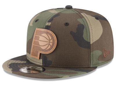 Indiana Pacers New Era NBA Sergeant Camo 9FIFTY Snapback Cap