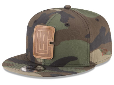 Los Angeles Clippers New Era NBA Sergeant Camo 9FIFTY Snapback Cap