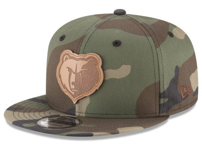 Memphis Grizzlies New Era NBA Camo 9FIFTY Snapback Cap