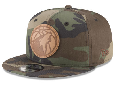 Minnesota Timberwolves New Era NBA Camo 9FIFTY Snapback Cap