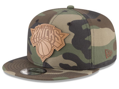 New York Knicks New Era NBA Sergeant Camo 9FIFTY Snapback Cap