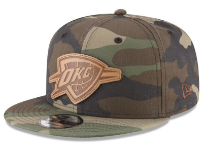 Oklahoma City Thunder New Era NBA Sergeant Camo 9FIFTY Snapback Cap