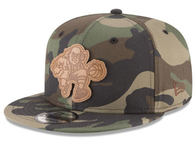 Philadelphia 76ers New Era NBA Sergeant Camo 9FIFTY Snapback Cap