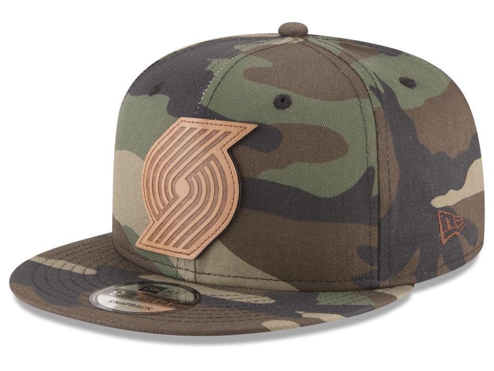 sports shoes bf2b8 c5429 discount portland trail blazers new era nba sergeant camo 9fifty snapback  cap 68255 d64a4
